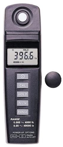 コンパクトサイズ・デジタル照度計