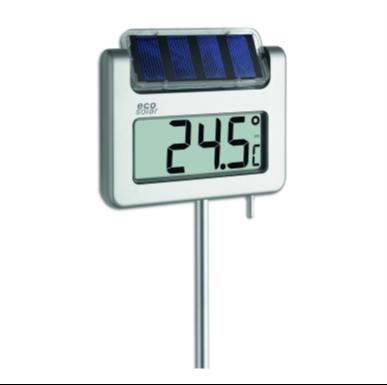 屋外用ソーラーデジタル温度計