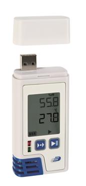 PDF温湿度データロガー(液晶表示付)