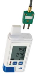 PDF温度データロガー(液晶表示付/外部入力2点)