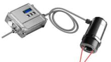 燃焼ガス測定用非接触温度計